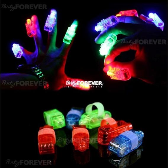 Anillos Luminosos Laser Led Cotillon X12u