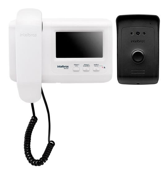 Vídeo Porteiro Intelbras Ivr 1010 Branco C/ Monitor 4,3