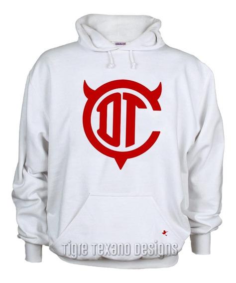 Sudadera Fútbol Diablos Rojos Toluca M2 Tigre Texano Designs