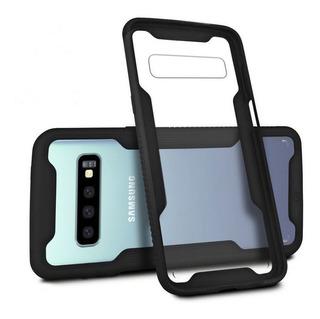 Capa Dual Shock + Película Nano Gel Galaxy S10 Plus - Gs