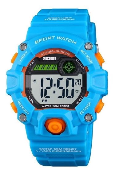 Relógio Infantil Skmei 1484 Crianças Relógio Digital