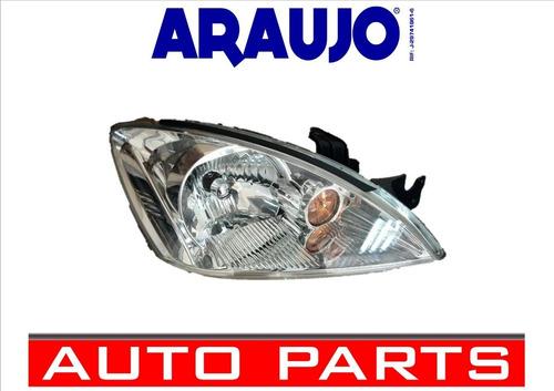 Faro Mitsubishi Lancer 2005 2006 2007 2008 Cromado Derecho
