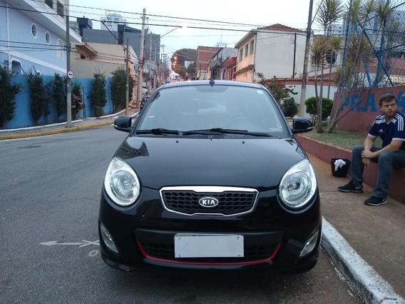 Kia Picanto Ex 1.0 Completo Preto Ano 2011