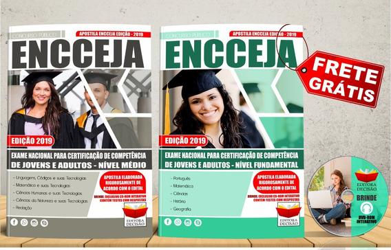 Apostila Kit 2019 - Encceja Ensino Fundamental E Médio