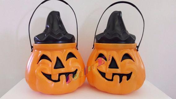 Cotillon Halloween Caramelera Calabaza Con Tapa