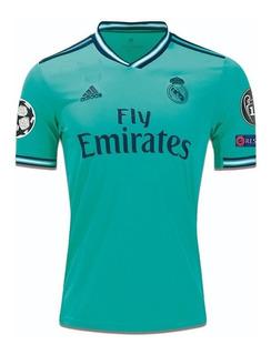Camiseta Real Madrid Suplente 2019/2020 + Parches Originale