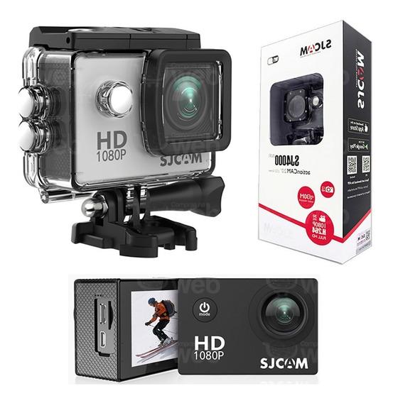 Camera Sjcam Sj4000 1080p Full Hd Filma Gopro Prova D