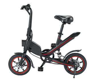 Bicicleta Eléctrica Aro 14 Fiddler Negra