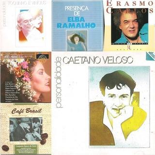 Cds Importados De Música Brasilera Combo 3 X 1 (precio Real)