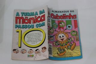 Hq Almanaque Do Cebolinha N°24 Gibi Antigo Ed. Globo 1994