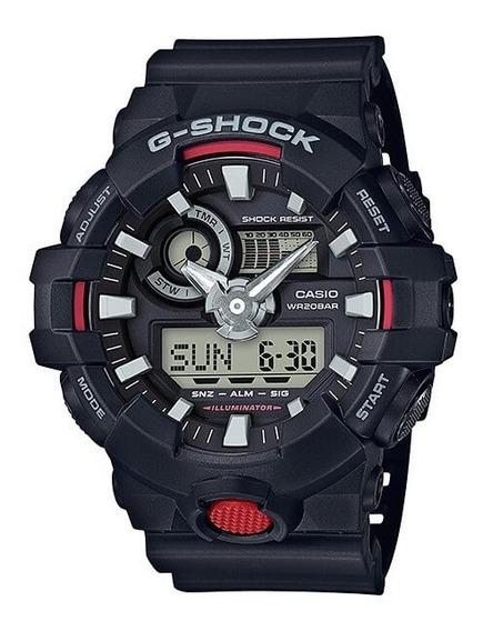 Relógio Casio G-shock Ga-700-1a Nova Linha Ga700 Original