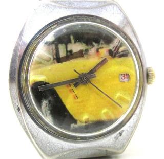 Reloj De Hombre De Coleccion Funcionando Ey122