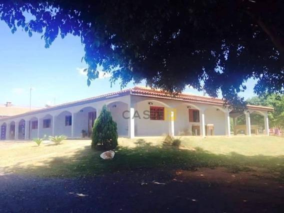 Chácara Residencial À Venda, Pinhal, Limeira. - Ch0004