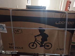 Bicicleta Azul Rin 16 Ideal Para Niños Nueva En Su Caja