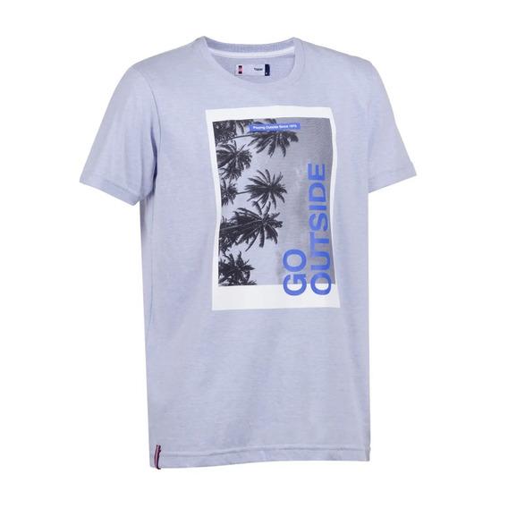 Remera Camiseta Topper Go Outside Manga Corta Hombre