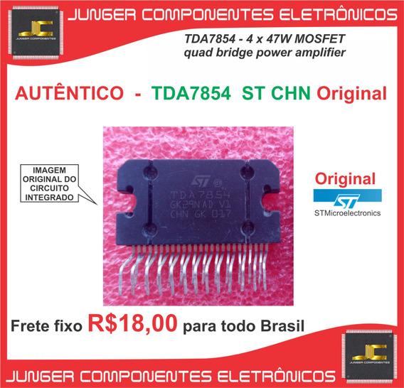 Tda7854 = Tda7851 = Pa2031a Caixa Amplificada Automotivo
