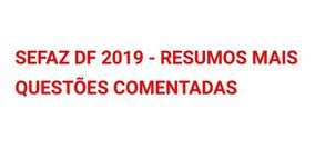 Sefaz Icms Df 2019 - Auditor Pdfs