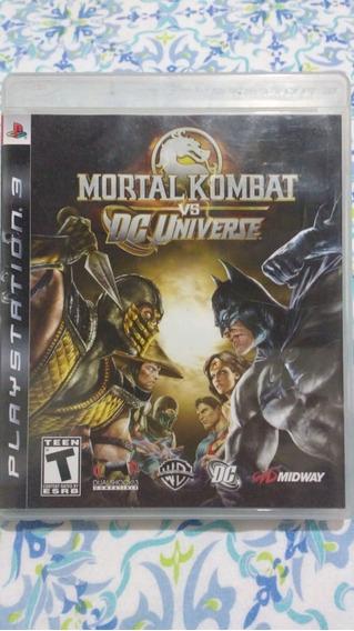 Mortal Kombat Vs Dc(leia) - Mídia Física - Ps3