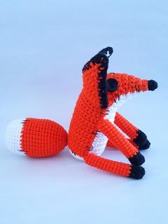 Zorro Amigurumi De El Principito A Crochet