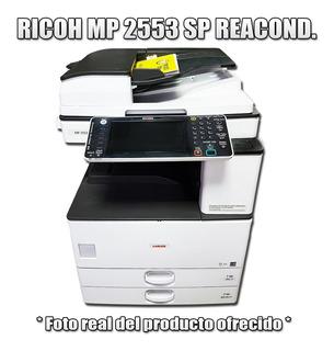 Fotocopiadora Impresora Multifuncion Laser Ricoh Mp 2553 Sp