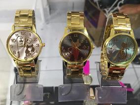 Kit 10 Relógio Variados Modelos Cores