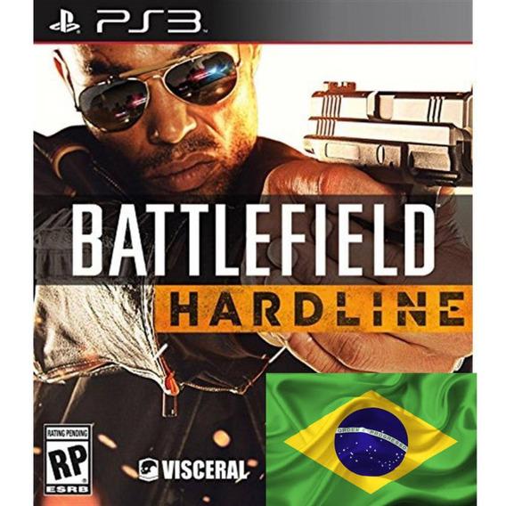 Battlefield Hardline Ps3 Digital Dublado