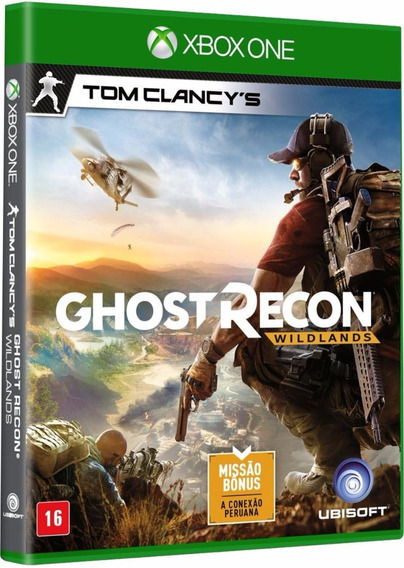 Jogo Ghost Recon Wildlands Xbox One Disco Físico Português