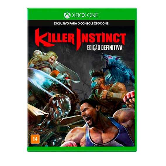 Game Xbox One Killer Instinct - Ed. Definitiva Usado Exc.
