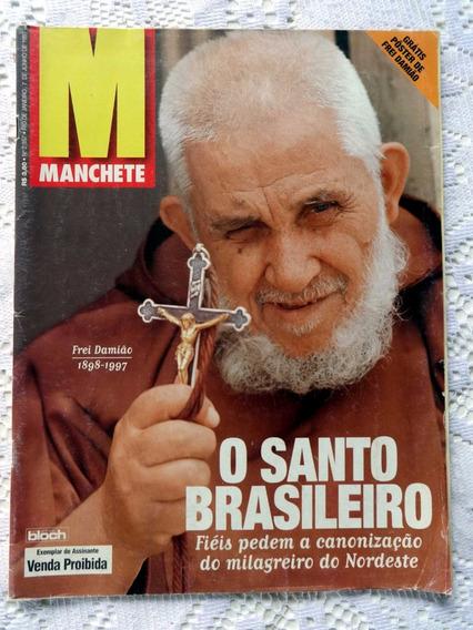 Manchete Nº 2.357: A Morte De Frei Damião - Inclui Poster