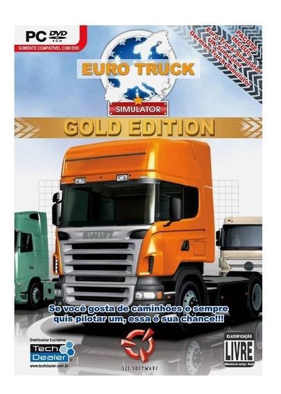 Euro Truck Golden Edition Pc Mídia Física Lacrado Original