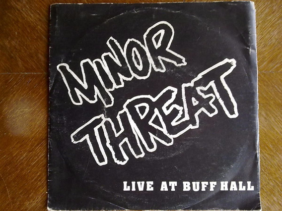 Minor Threat - Live At Buff Hall. Lost And Found Vinilo 7