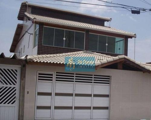 Sobrado Com 5 Dormitórios À Venda Por R$ 650.000,00 - Maracanã - Praia Grande/sp - So0037