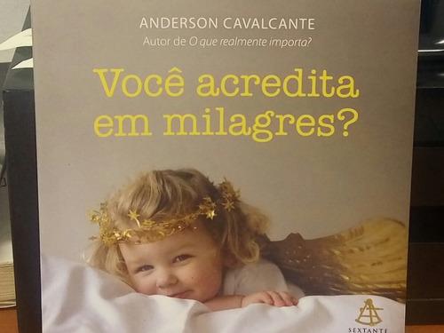 Livro, Você Acredita Em Milagres?