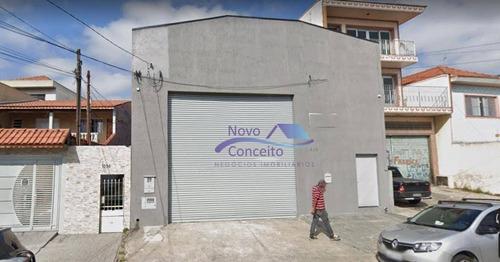 Galpão À Venda, 420 M² Por R$ 1.500.000,00 - Vila Nova Manchester - São Paulo/sp - Ga0155
