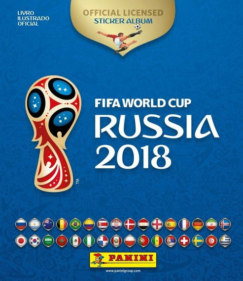 Álbum Copa Do Mundo Rússia 2018 Completo + 100 Fig Novas