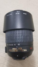 Lente Nikon 55-200 Ed Dx Vr Com Fungos