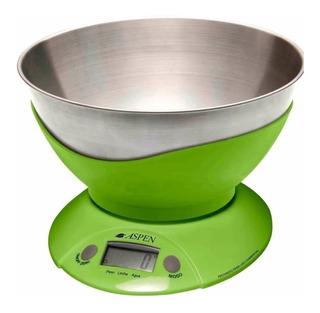 Balanza Cocina Digital Aspen 3kg Pesa Liquido Ek3555