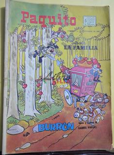 Comic No. 16893 De Paquito Presenta La Familia Burrón (1968)