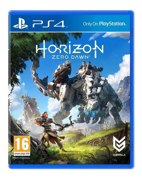Horizon Zero Dawn Ps4 - Mídia Física - Novo E Lacrado