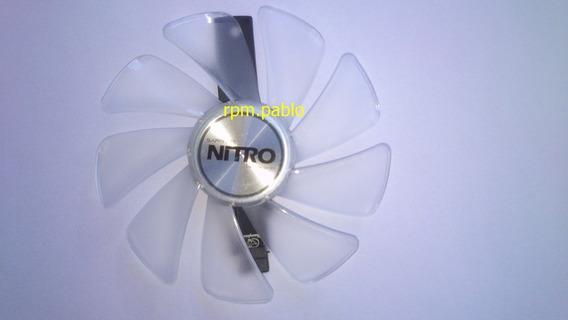 Cooler Sapphire Nitro Radeon Rx570 Rx580 Com Led Branco