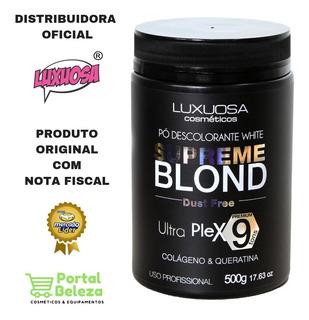 Pó Descolorante White Supreme Blond Luxuosa Cosméticos