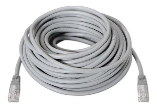 Cable De Red 20mts Cat 5e Patch Cord Utp Directo Internet Pc