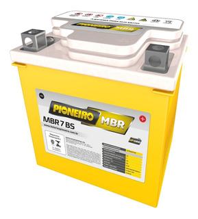 Bateria Moto Gel Pioneiro Mbr7-bs = Ytx7l-bs Solomototeam