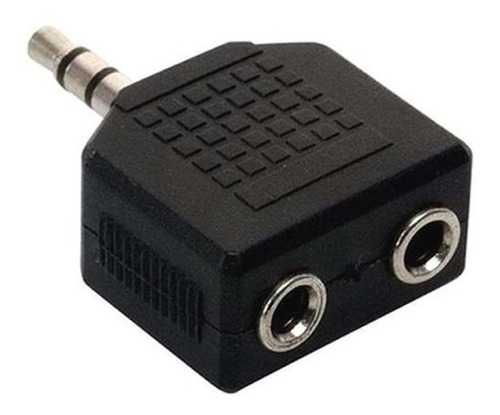 Imagen 1 de 4 de Cable Adaptador Splitter Audio Mini Plug 3,5 2 Auricular