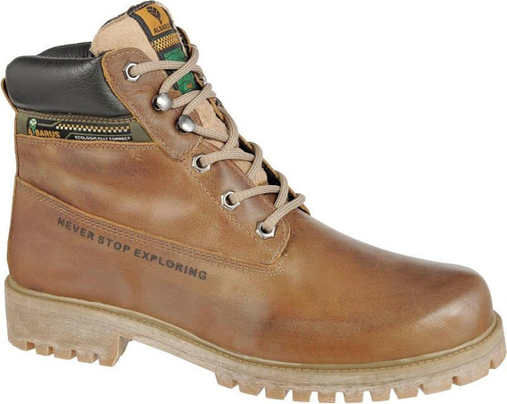 Bota Adventure Usually Titanium Couro Cano Alto Albarus 8700