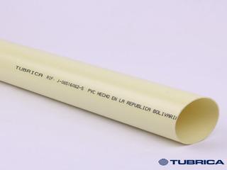 Tubo Pvc Aguas Negras 50mm (2 Pulgada) X 3 Metros