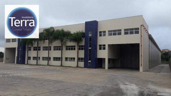 Galpão Para Alugar, 4994 M² Por R$ 79.000,00/mês - Rio Cotia - Cotia/sp - Ga0170