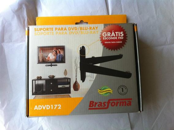 Suporte Parede Para Dvd-blu Ray- Brasforma Advd172