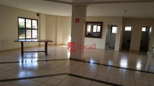 Apartamento Com 3 Dormitórios À Venda, 160 M² Por R$ 700.000 - Cidade Nova - São José Do Rio Preto/sp - Ap1553