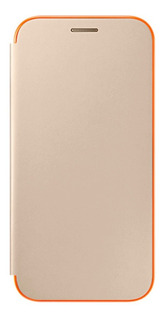 Funda Protector Flip Cover Neon Oro A7 (2017) Acc Samsung